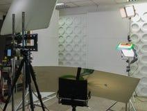 Interior modern photo studio Stock Photos