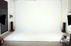Interior of the modern photo studio Royalty Free Stock Photography