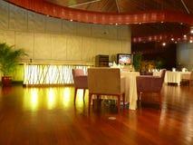 Interior of a modern restaurant. A modern chinese restaurant beijing china Stock Photos