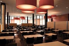 Interior of modern restaurant Stock Images