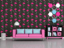 Interior of the modern room Royalty Free Stock Image