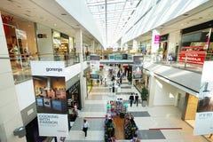 Interior of a modern shopping center Stock Image