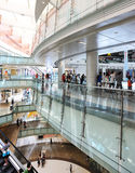 Interior of modern shoppingmall Stock Photos