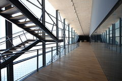Interior of modern sport arena. In riojeka Croatia stock photos
