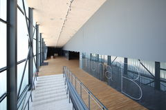 Interior of modern sport arena. In riojeka Croatia stock photo