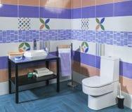 Interior of modern stylish bathroom Royalty Free Stock Image