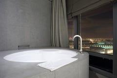 Interior of modern toilet in european style Royalty Free Stock Photos