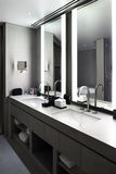 Interior of modern toilet in european style Stock Photography