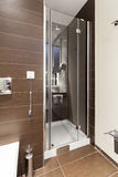 Interior of a modern toilette Royalty Free Stock Image