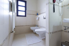 Interior of a modern toilette Royalty Free Stock Photography