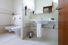 Interior of a modern toilette Stock Image