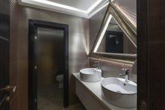 Interior of a modern toilette Royalty Free Stock Photos