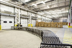 Interior of modern warehouse Stock Photography