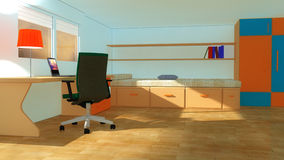 Interior modern youth room Stock Images