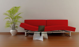 Interior moderno Imagen de archivo libre de regalías