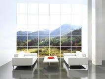 Interior moderno. Fotografía de archivo