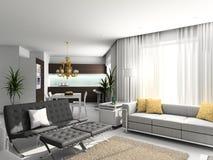 Interior moderno. Imagem de Stock Royalty Free