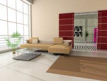 Interior moderno imagens de stock
