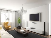 Interior moderno. Fotografia de Stock Royalty Free