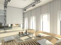 Interior moderno. Fotos de Stock Royalty Free