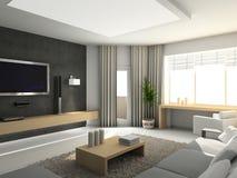 Interior moderno. Imagenes de archivo