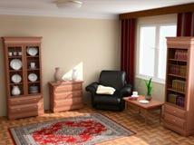 Interior moderno 3d imagenes de archivo