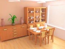 Interior moderno 3d Fotografía de archivo