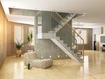 Interior moderno ilustración del vector