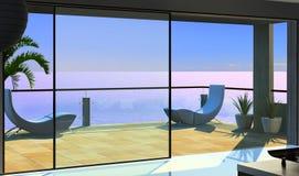 Interior moderno Imagem de Stock Royalty Free
