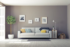 Interior moderno Imagenes de archivo