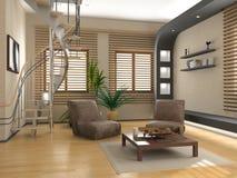 Interior moderno stock de ilustración