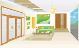 Interior moderno libre illustration