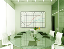 Interior moderno. Foto de archivo