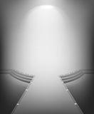 Interior moderno blanco Imagen de archivo