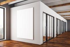Interior moderno com cartaz vazio Imagem de Stock