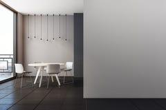 Interior moderno com o espaço para refeições Imagens de Stock