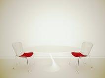 Interior moderno com rendição 3d Imagem de Stock