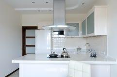 Interior moderno. Cozinha Fotos de Stock