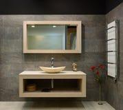 Interior moderno. Cuarto de baño Fotografía de archivo libre de regalías