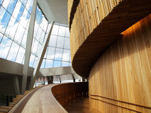 Interior moderno da arquitetura Imagem de Stock Royalty Free