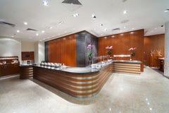 interior da barra do café Fotografia de Stock