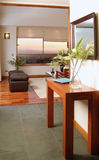 Interior moderno da casa Fotografia de Stock