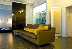 Interior moderno da casa   foto de stock royalty free