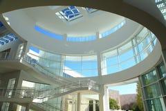 Interior moderno da construção Fotos de Stock Royalty Free