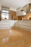 Interior moderno da cozinha. Imagem de Stock