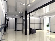 Interior moderno da loja Fotos de Stock