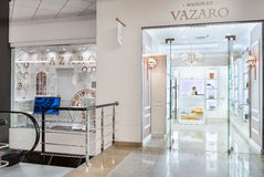 Interior moderno da loja Fotos de Stock Royalty Free