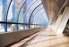 Interior moderno da ponte Fotos de Stock