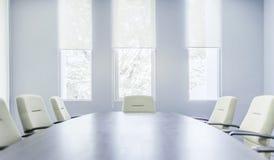 Interior moderno da sala de reunião imagens de stock royalty free
