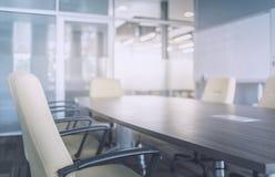 Interior moderno da sala de reunião imagem de stock royalty free
